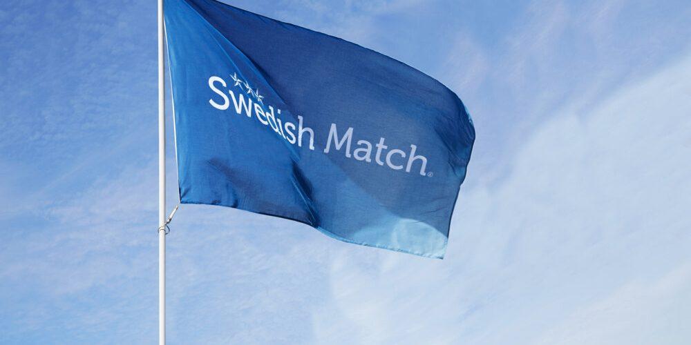 Swedish Match-flagg