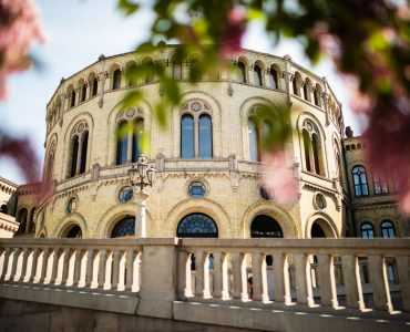 Stortingsbygningen. Foto: Stortinget
